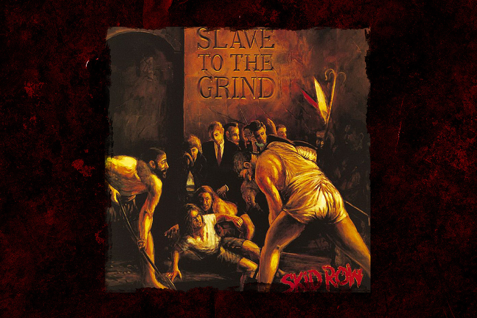 28 Years Ago: Skid Row Release 'Slave to the Grind'