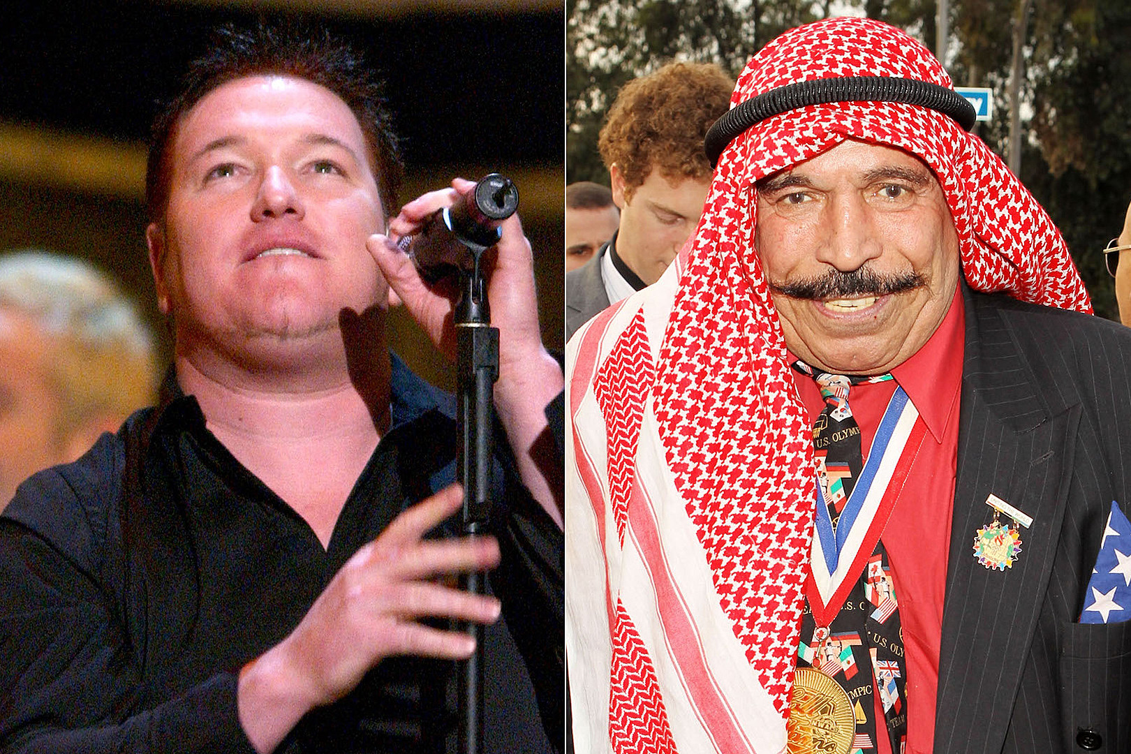 Smash Mouth + The Iron Sheik Weigh In on Chad Kroeger vs. Corey Taylor Beef