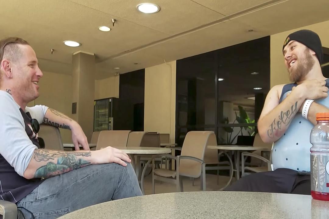 Corey Taylor Visits Paralyzed Slipknot Fan in Hospital