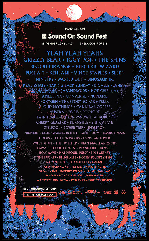 2017 Sound on Sound Festival