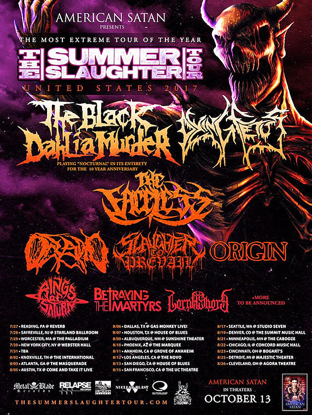 2017 Summer Slaughter Tour
