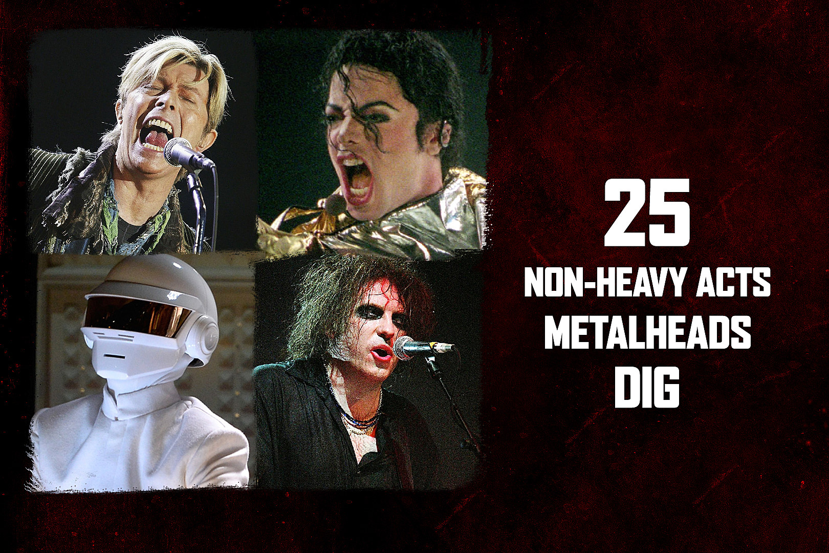 25 Non-Heavy Acts Metalheads Dig