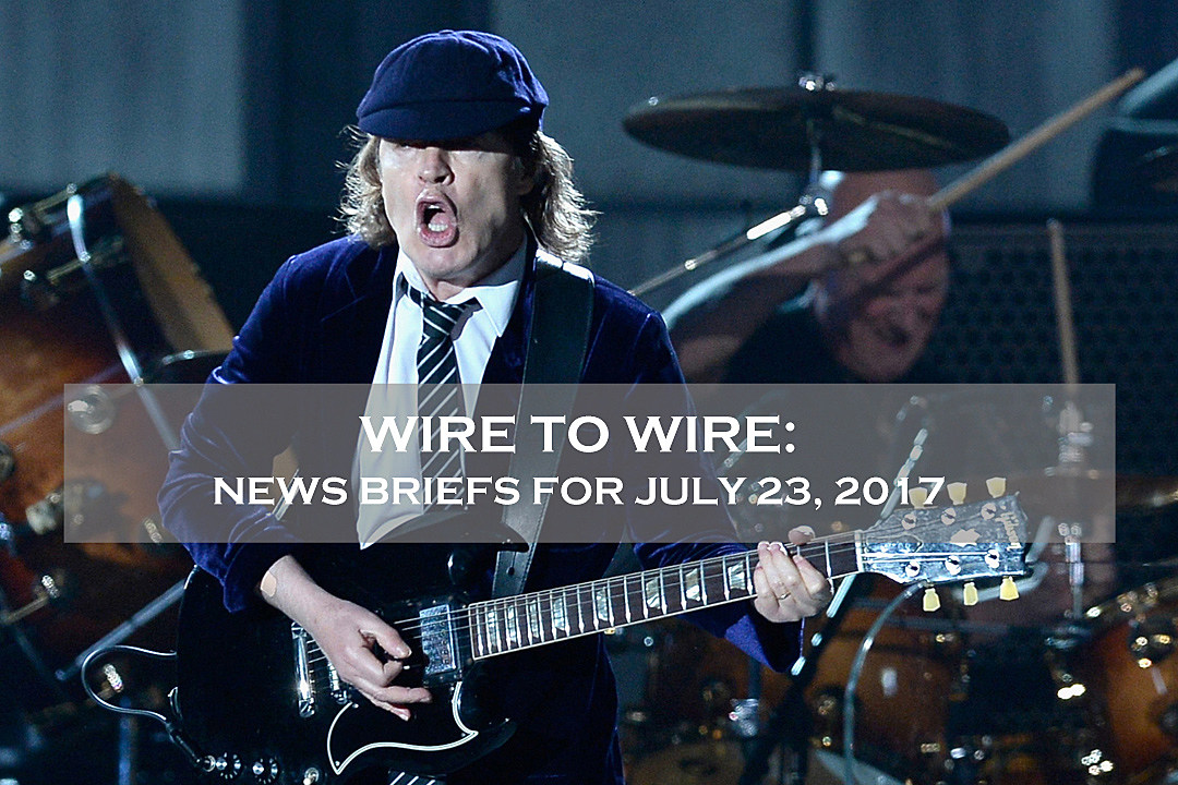 Wire-to-Wire: AC/DC Prep Tour Photo Book + News on Cage the Elephant + More