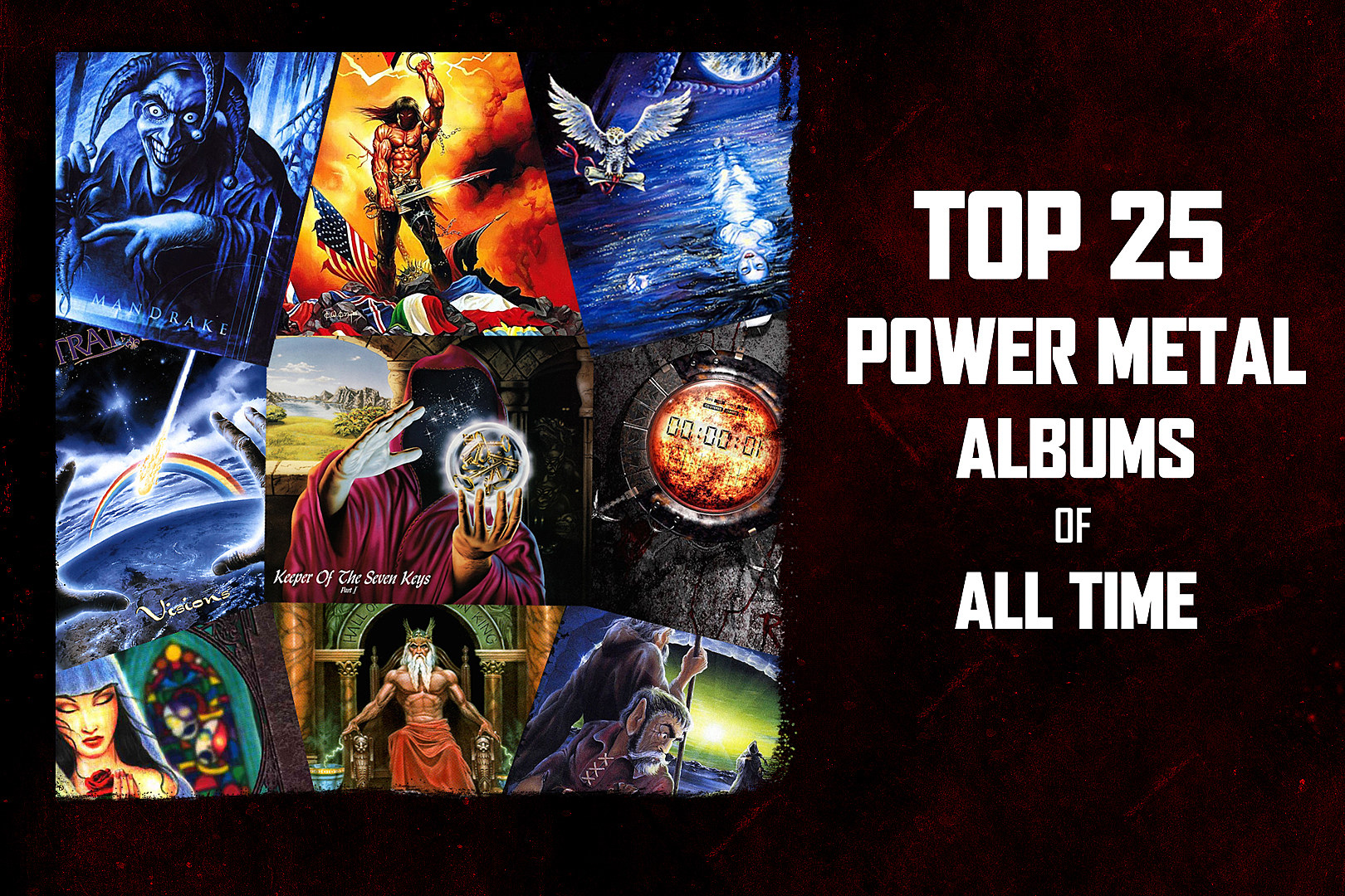 Top 25 Power Metal Albums of All Time