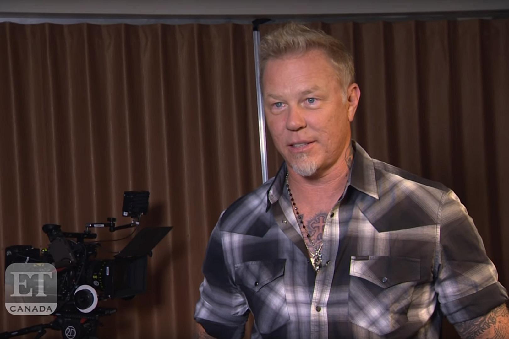 James Hetfield on Kardashians Selling Metallica Shirt:
