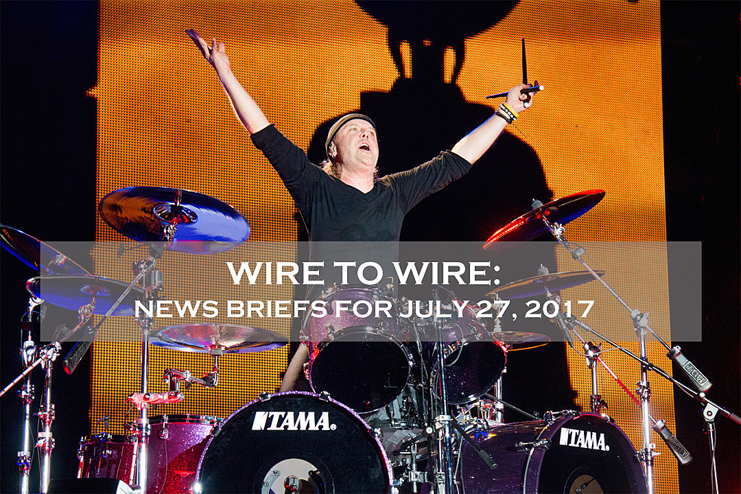 Wire-to-Wire: Lars Ulrich to Interview Metallica Bandmates, Plus News on the Black Dahlia Murder + More