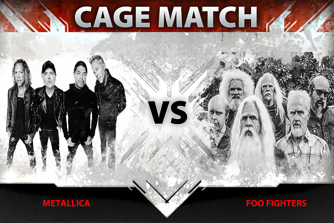 Metallica vs. Foo Fighters – Cage Match