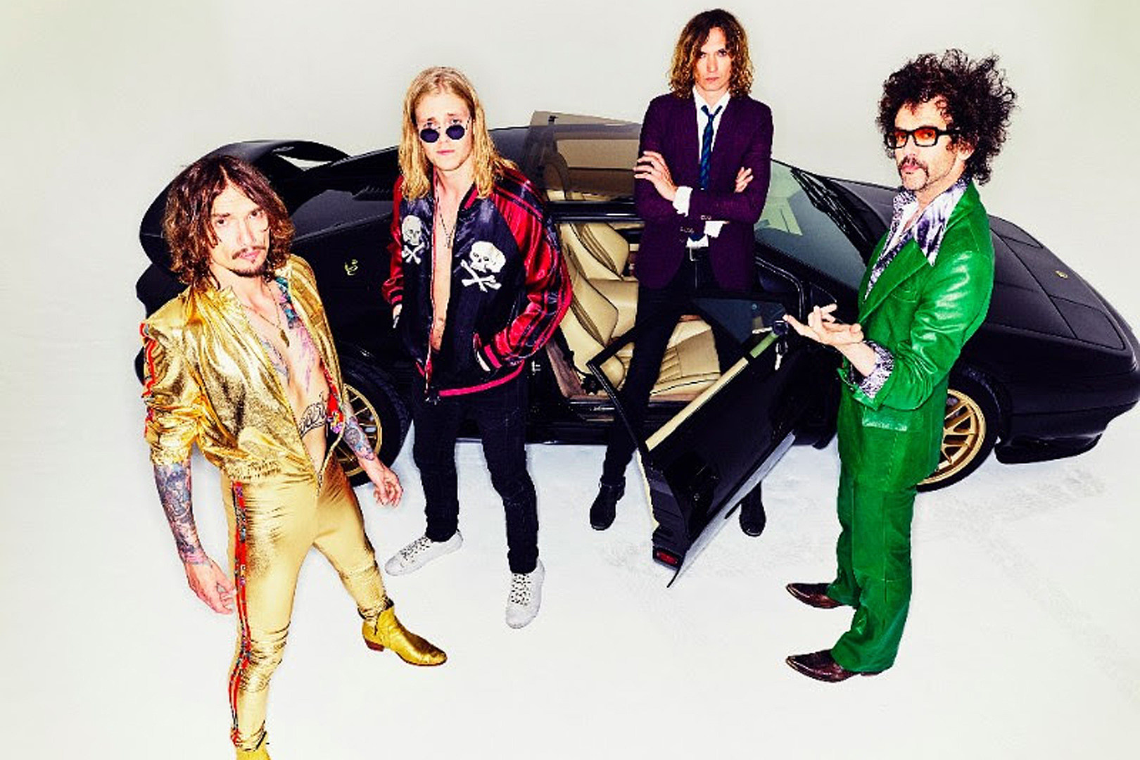 The Darkness Reveal 'Pinewood Smile' Album Details, Unleash 'All the Pretty Girls' Song