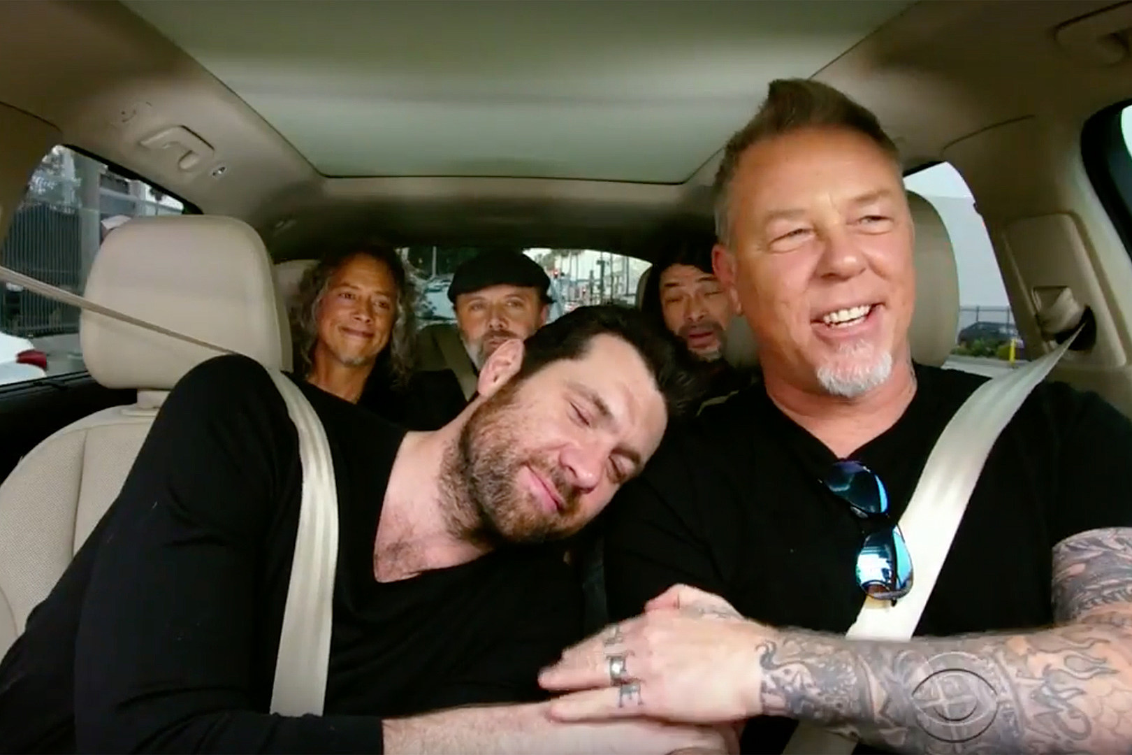 Metallica Play 'Metal Have I Ever' in 'Carpool Karaoke' Episode, Billy Eichner Teases Premiere on 'Late Late Show'