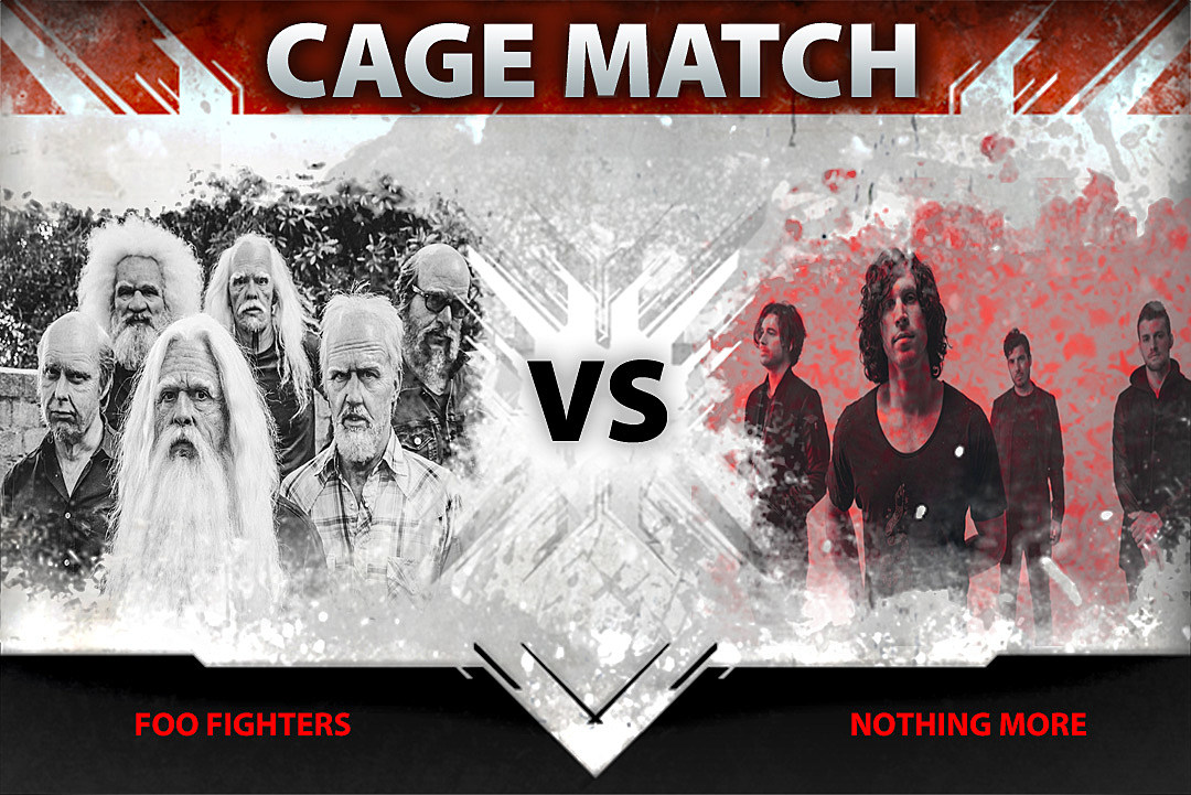 Foo Fighters vs. Nothing More – Cage Match