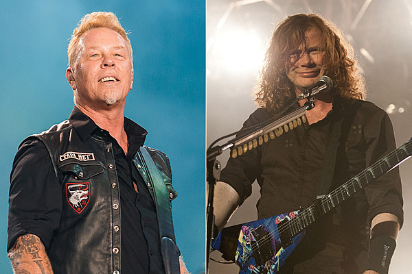 metallica 39 s 39 the four horsemen 39 gets a laughing hetfield mustaine remix. Black Bedroom Furniture Sets. Home Design Ideas