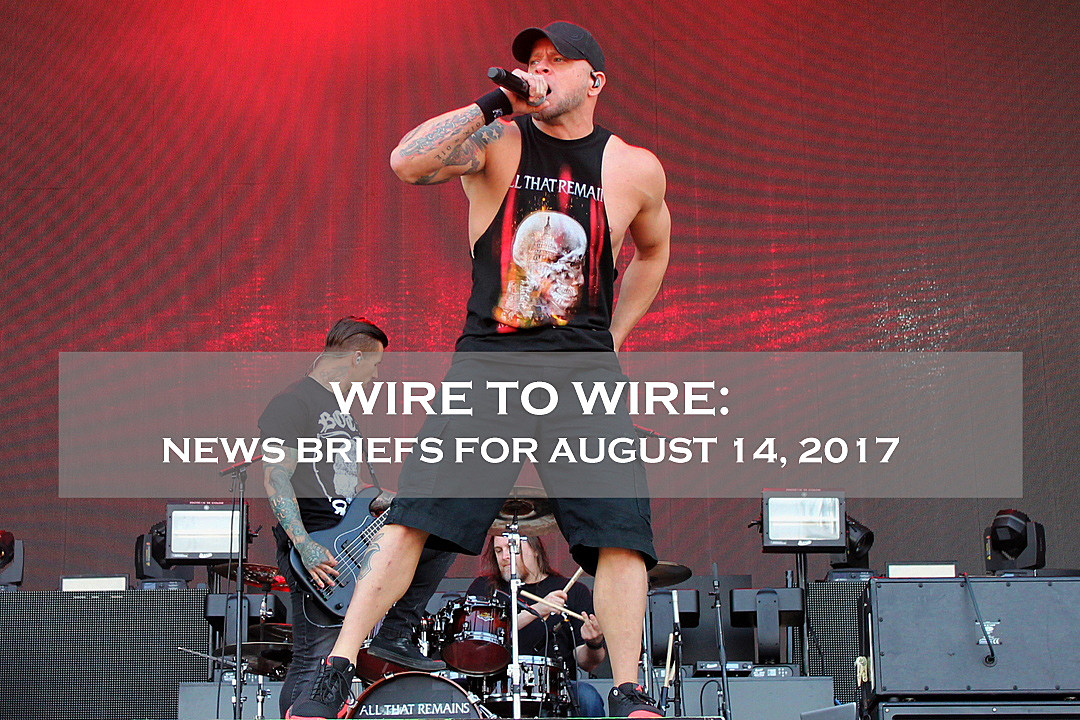 All That Remains' Phil Labonte to Speak at Philadelphia Rally, Plus News on Nergal, Volbeat + More