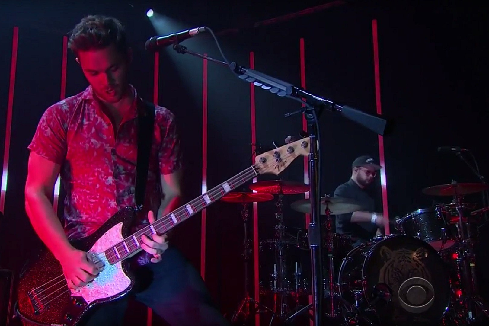 Royal Blood Turn the 'Lights Out' on 'The Late Late Show'