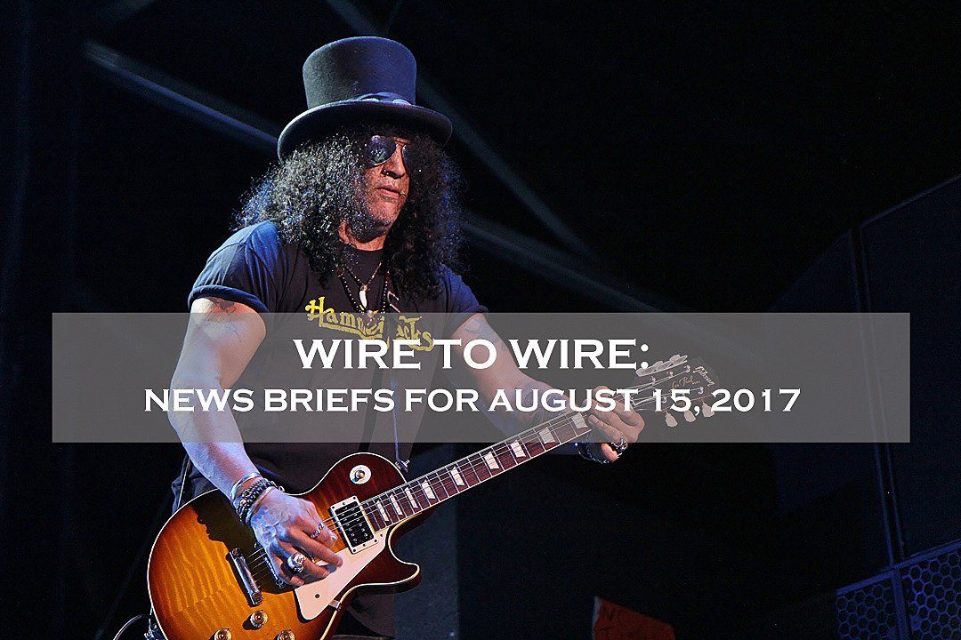 Slash Named Gibson Global Brand Ambassador Plus News on Dillinger Escape Plan + More
