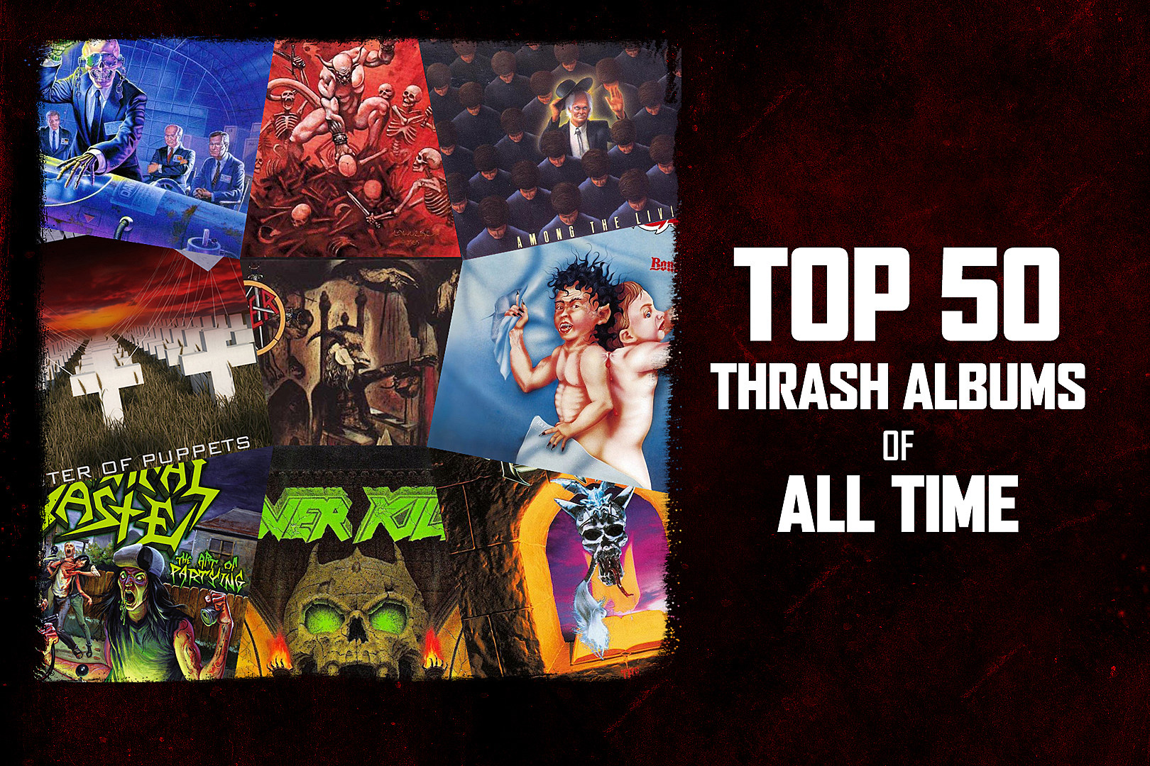 Top 50 Thrash Metal Albums of All Time