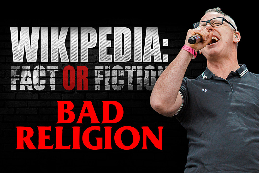 Bad Religion's Greg Graffin Plays 'Wikipedia: Fact or Fiction?'