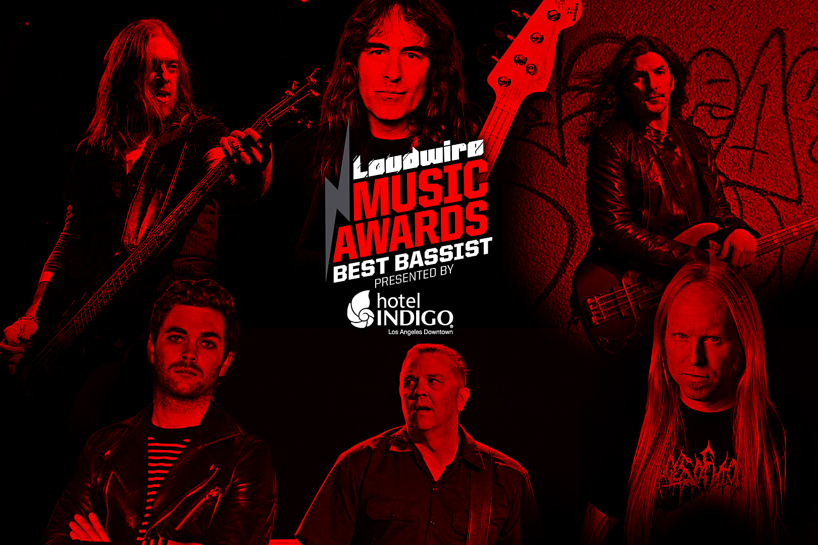 Vote for the Best Bassist – 2017 Loudwire Music Awards