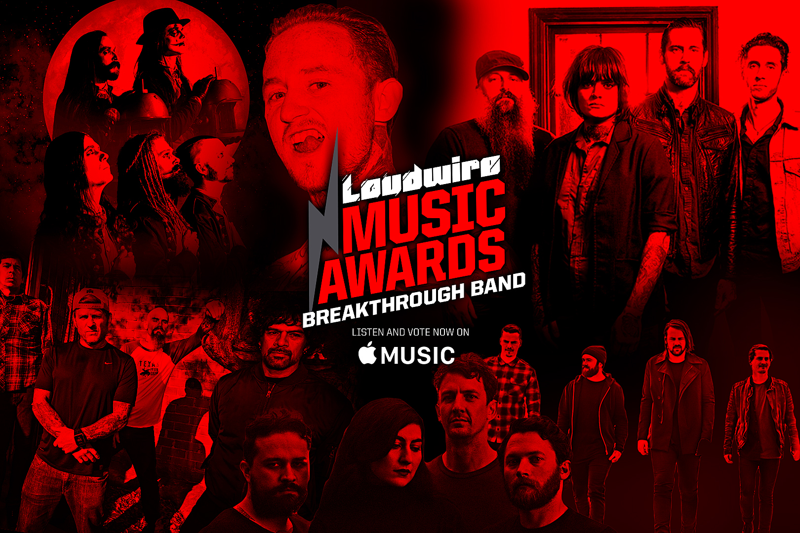 Vote for the Breakthrough Band of the Year – 2017 Loudwire Music Awards