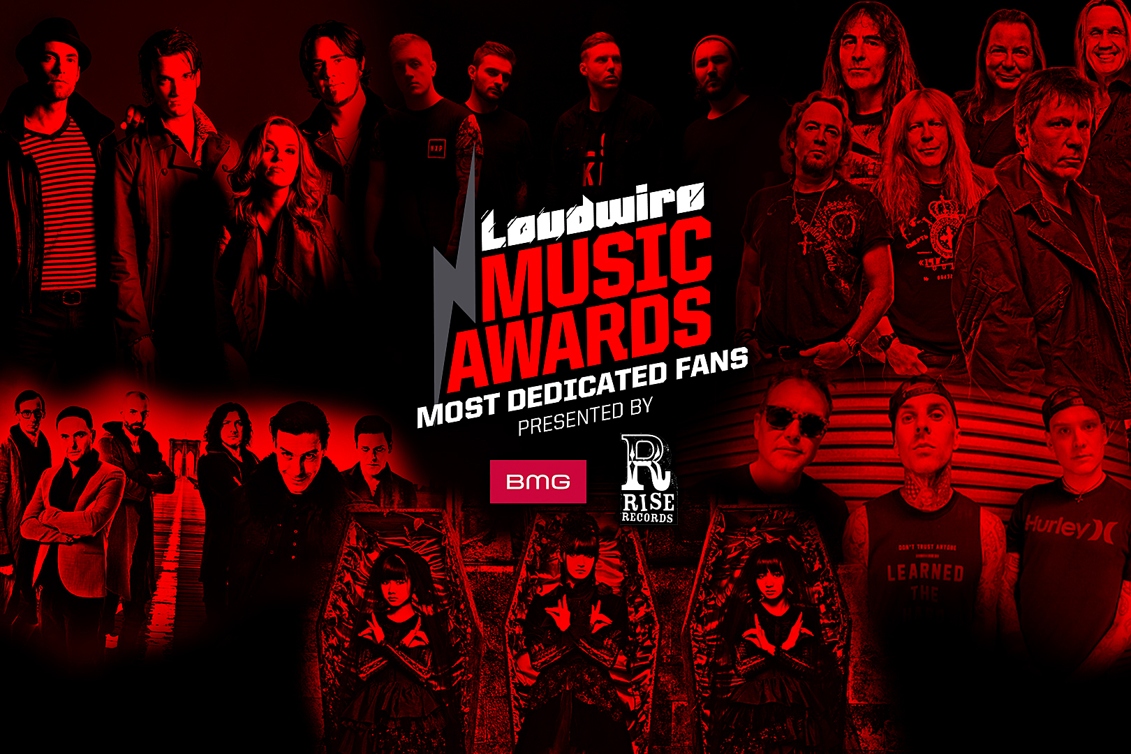 Vote for the Most Dedicated Fans – 2017 Loudwire Music Awards