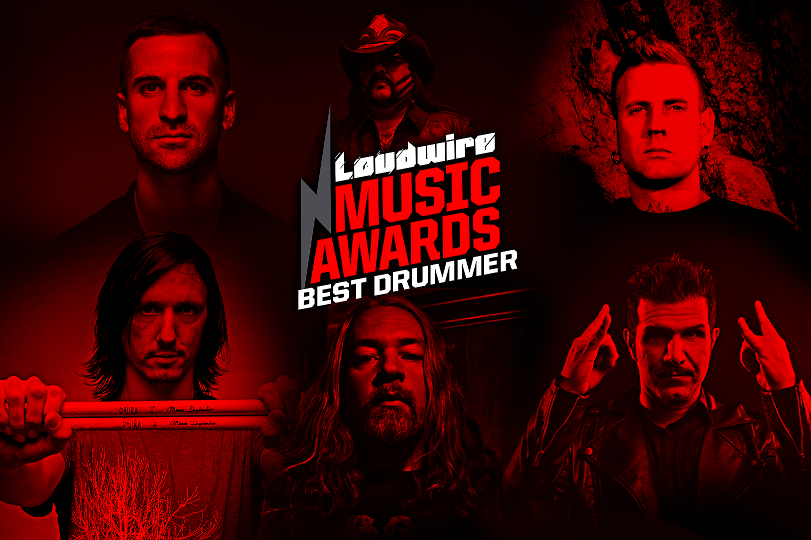 Vote for the Best Drummer – 2017 Loudwire Music Awards