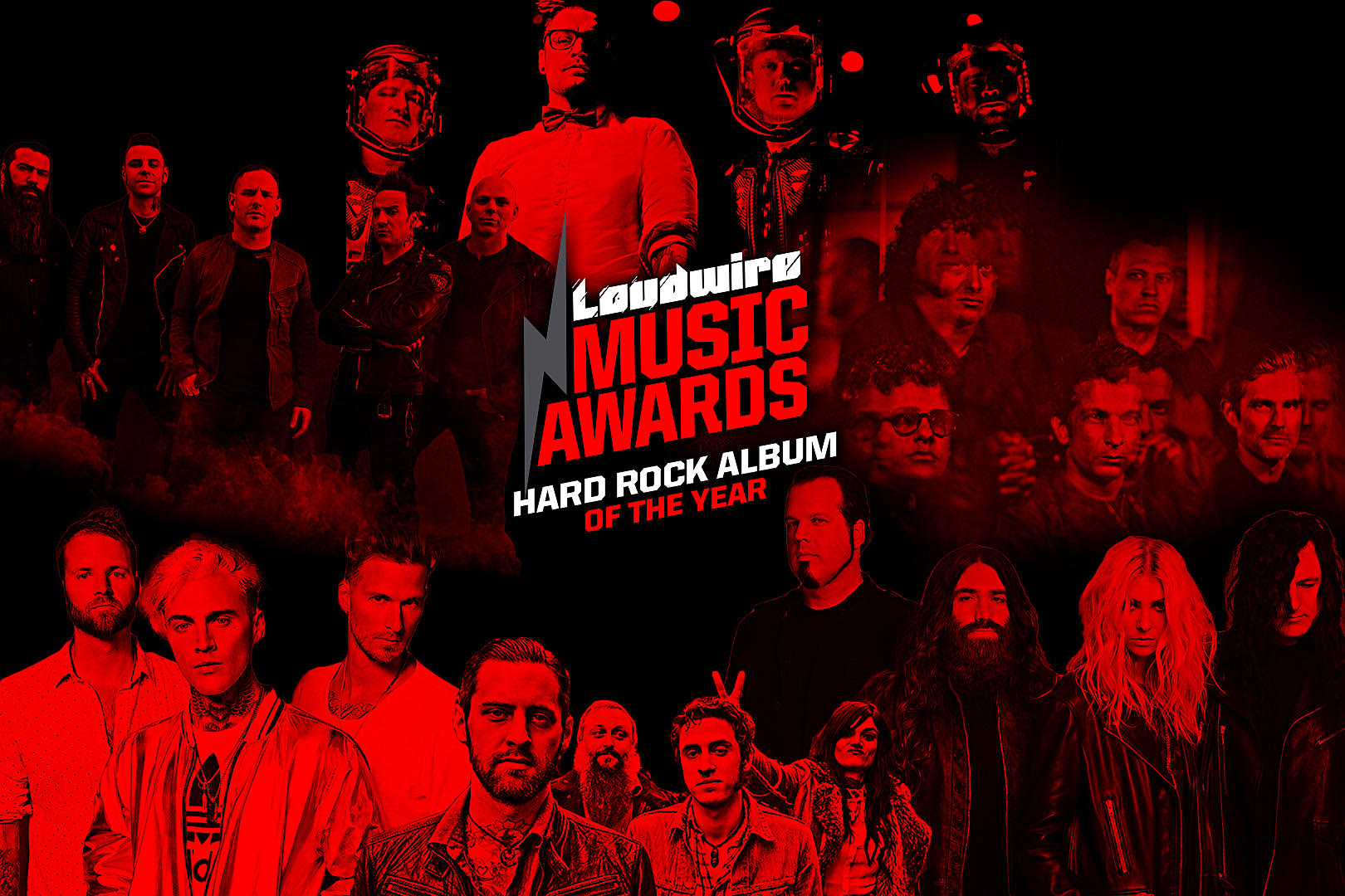 Vote for the Hard Rock Album of the Year – 2017 Loudwire Music Awards