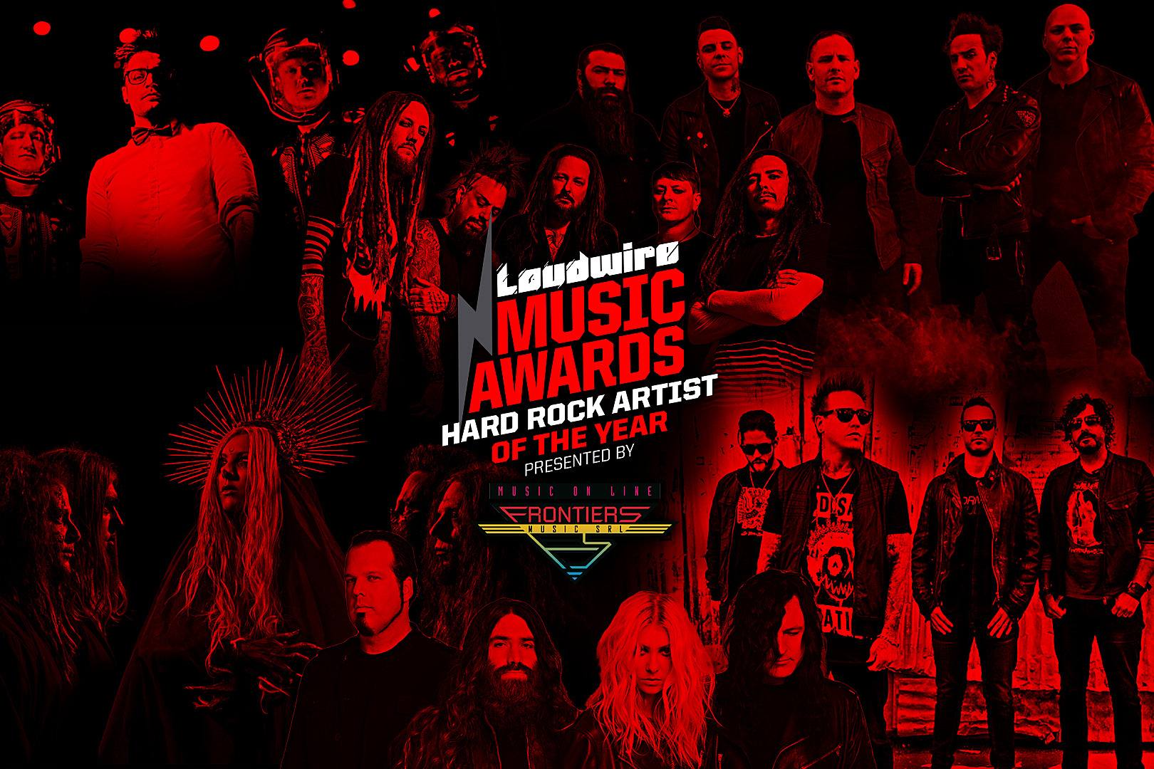 Vote for the Hard Rock Artist of the Year – 2017 Loudwire Music Awards
