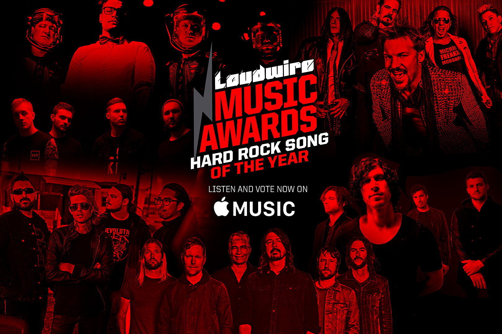 Vote for the Hard Rock Song of the Year – 2017 Loudwire Music Awards