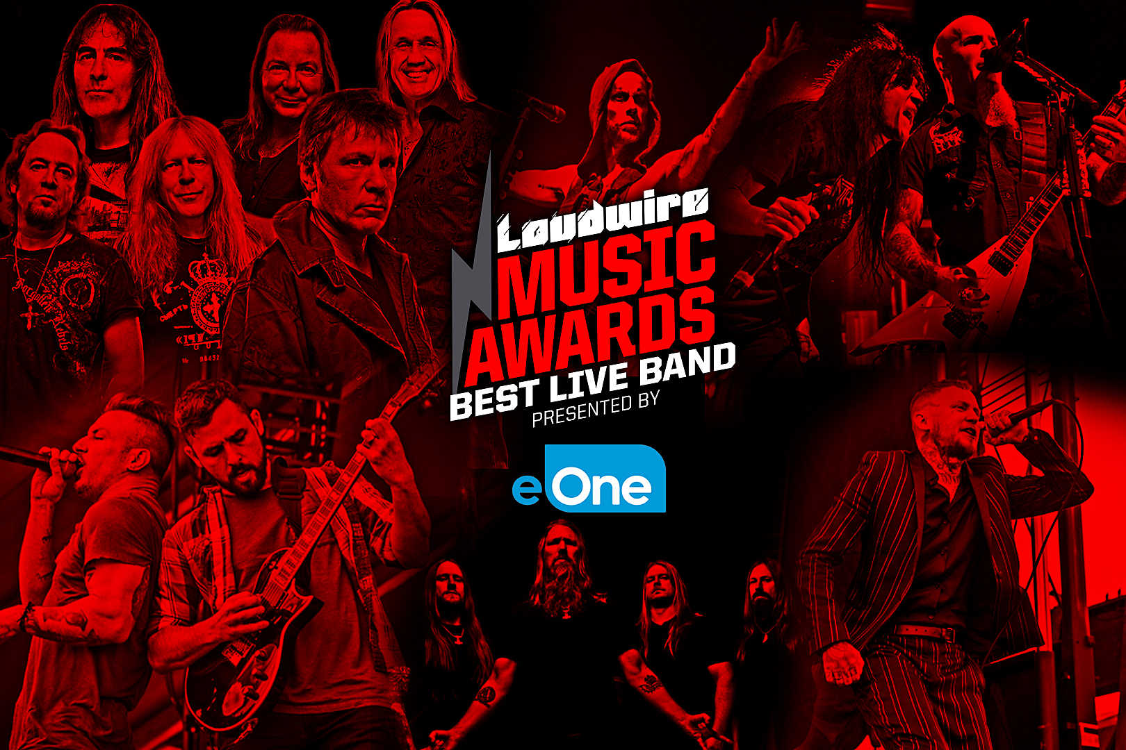 Vote for the Best Live Band – 2017 Loudwire Music Awards