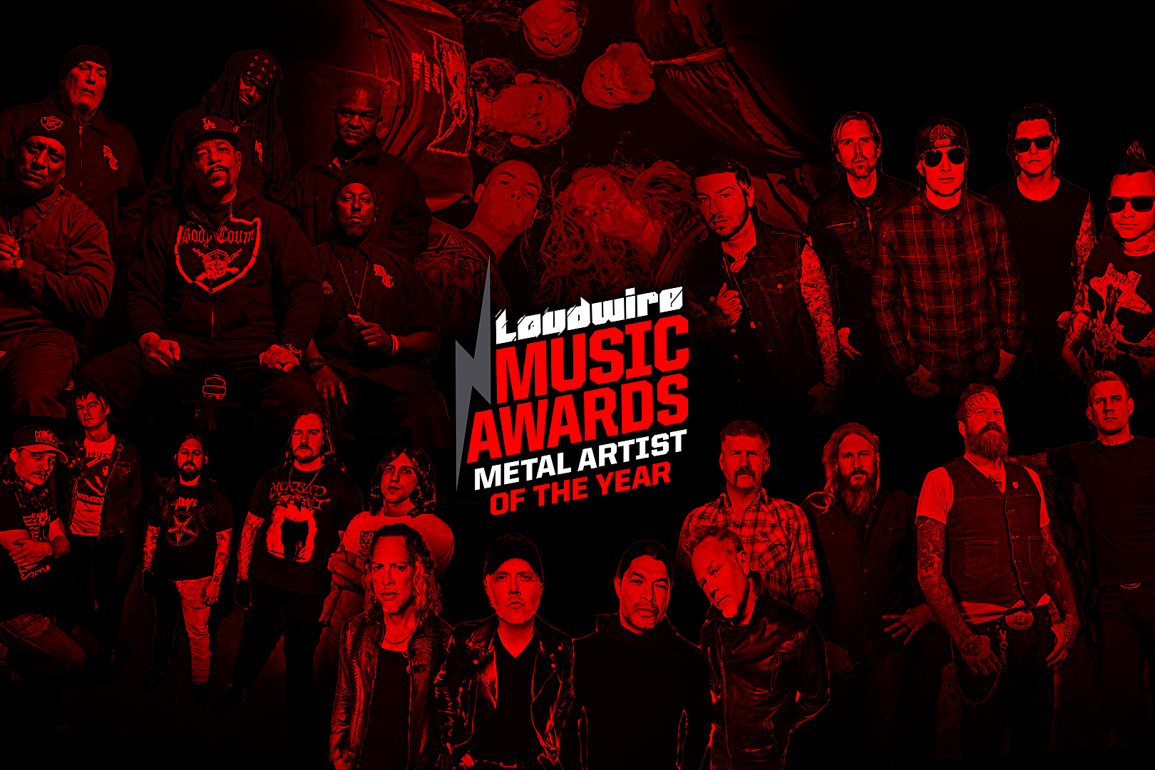 Vote for the Metal Artist of the Year – 2017 Loudwire Music Awards