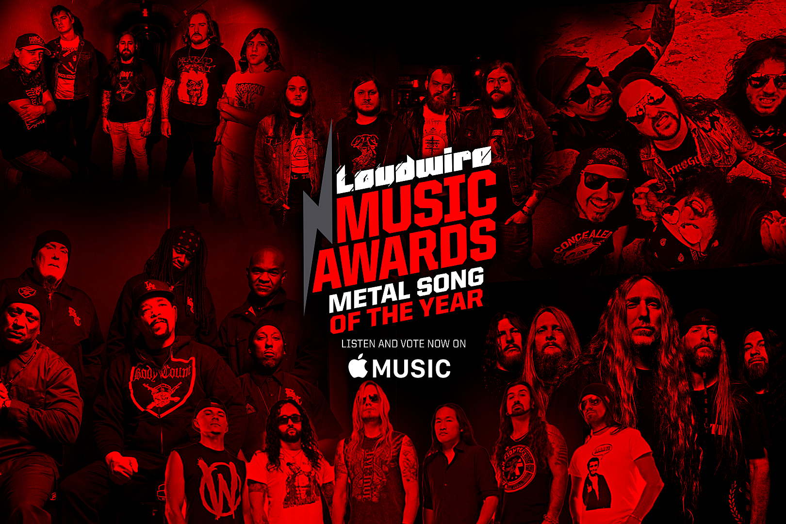 Vote for the Metal Song of the Year – 2017 Loudwire Music Awards