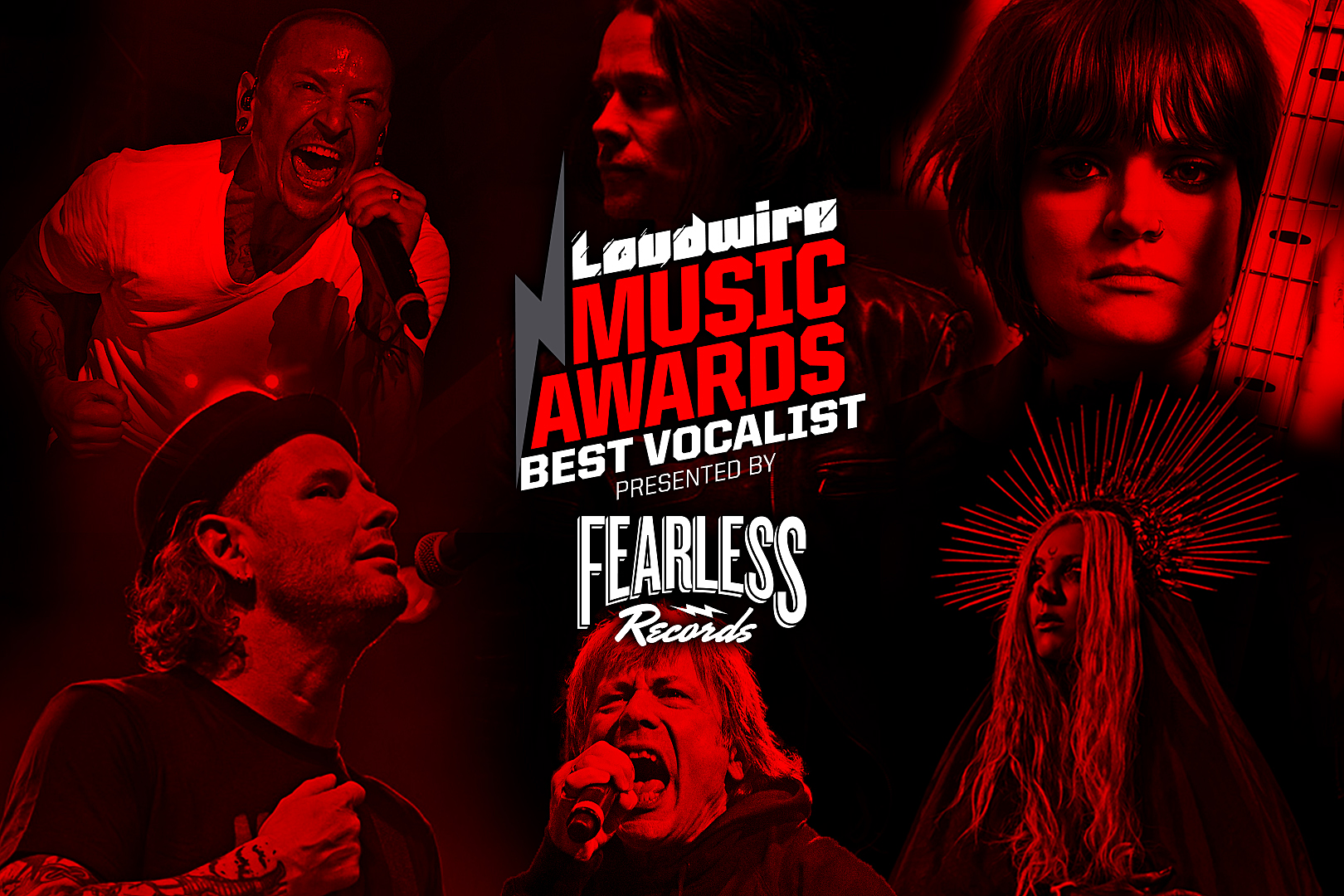 Vote for the Best Vocalist – 2017 Loudwire Music Awards