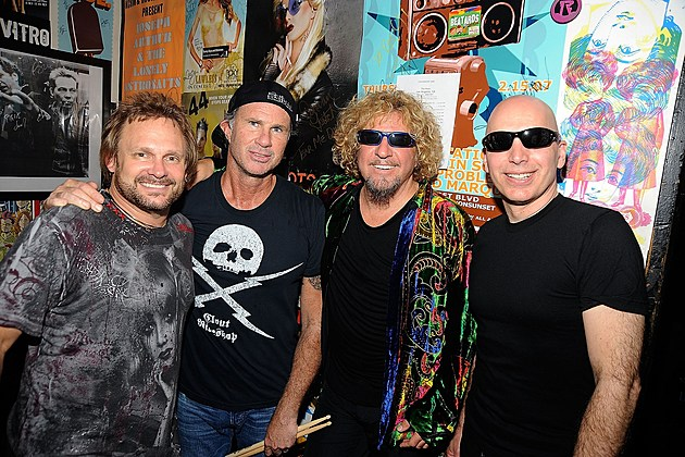 Chickenfoot & Davy Knowles Performs At The Roxy Theatre