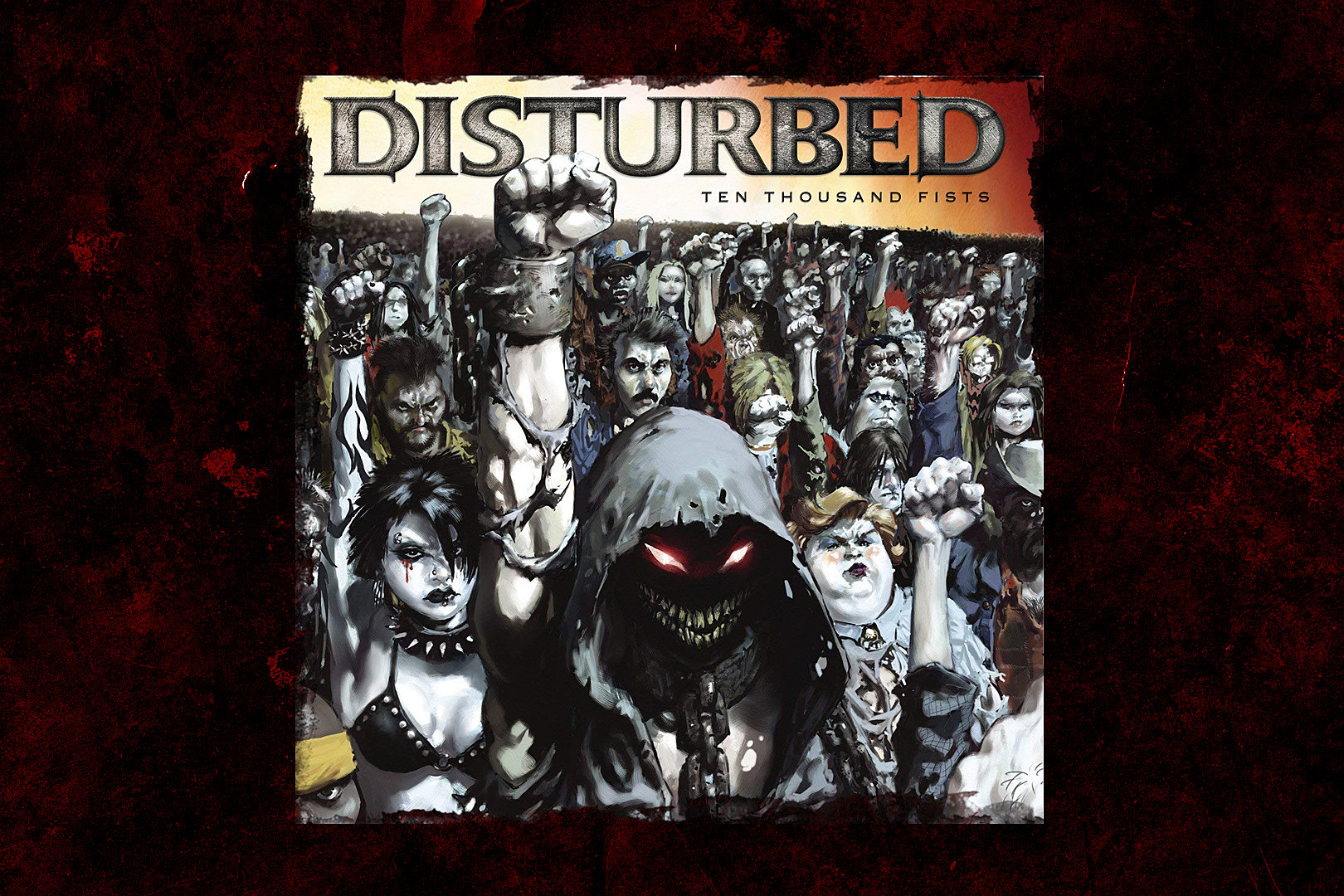 13 Years Ago Disturbed Release Ten Thousand Fists