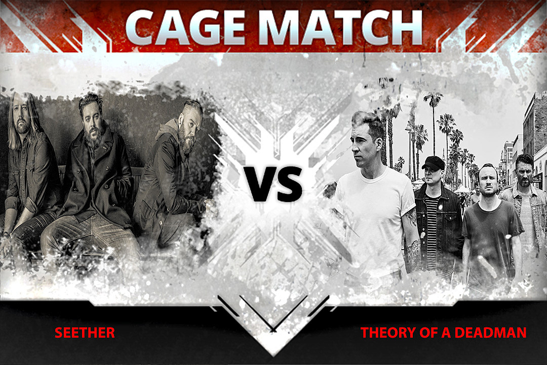 Seether vs. Theory of a Deadman – Cage Match