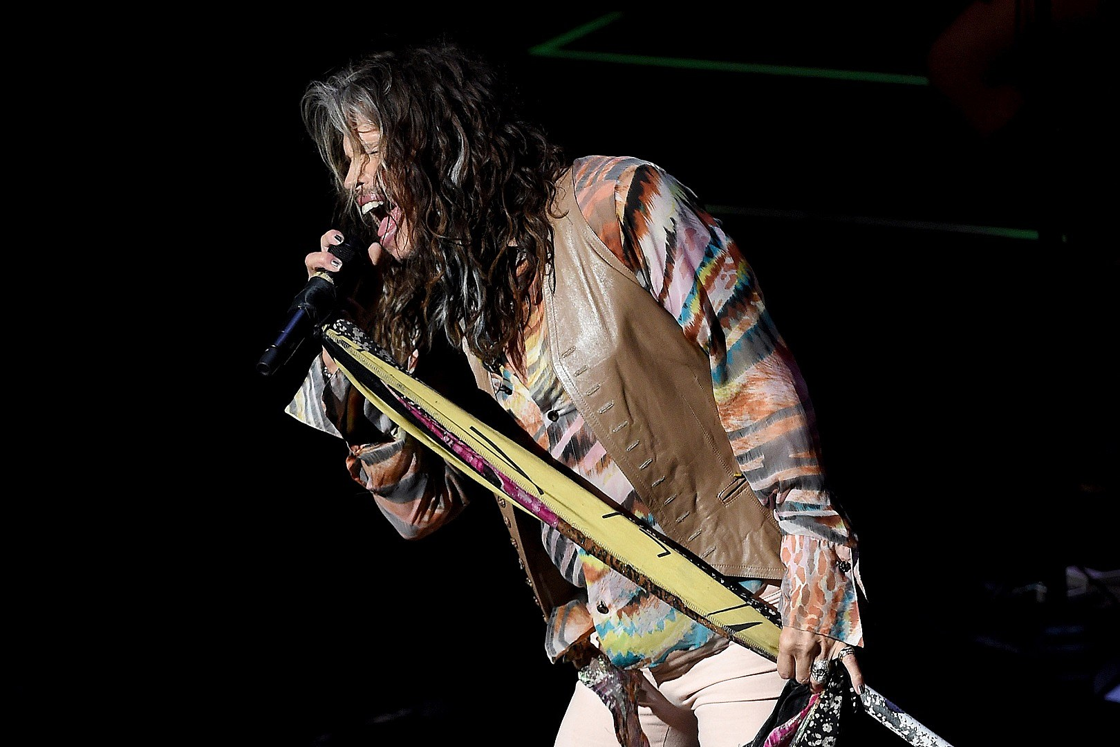 Steven Tyler suffered seizure in Brazil