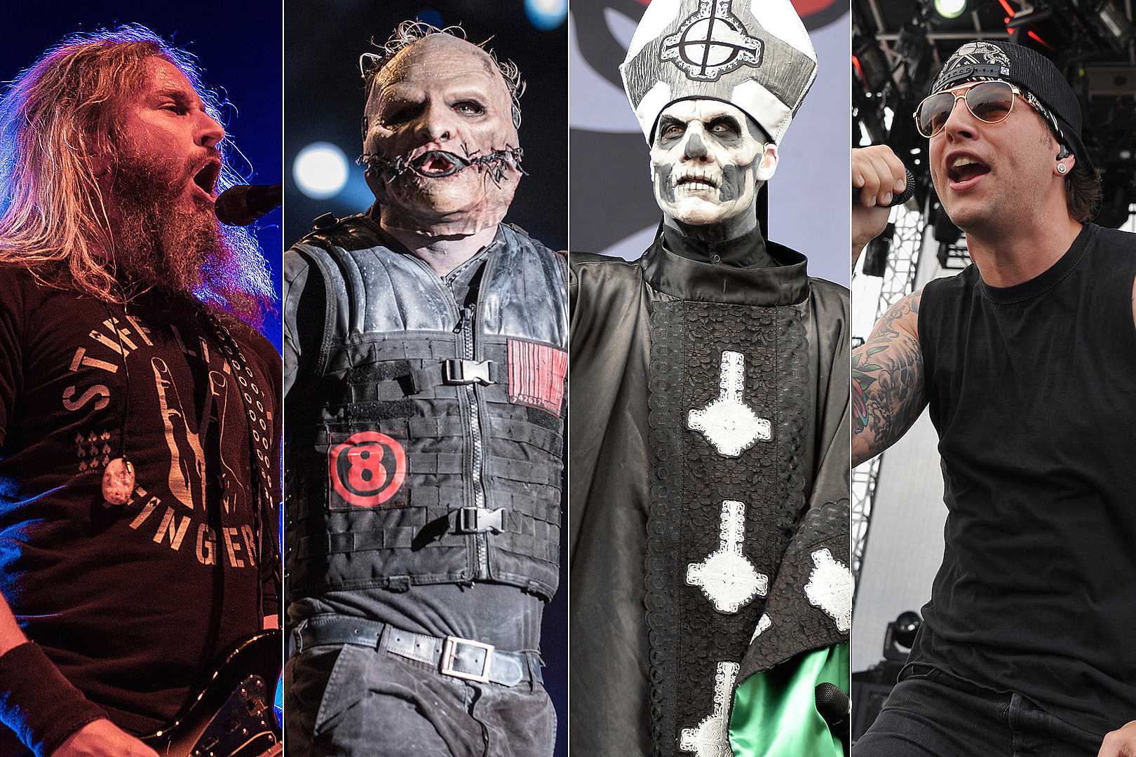 Johnny Perilla, Loudwire / Raphael Dias, Getty Images / Theo Wargo, Getty Images (2)
