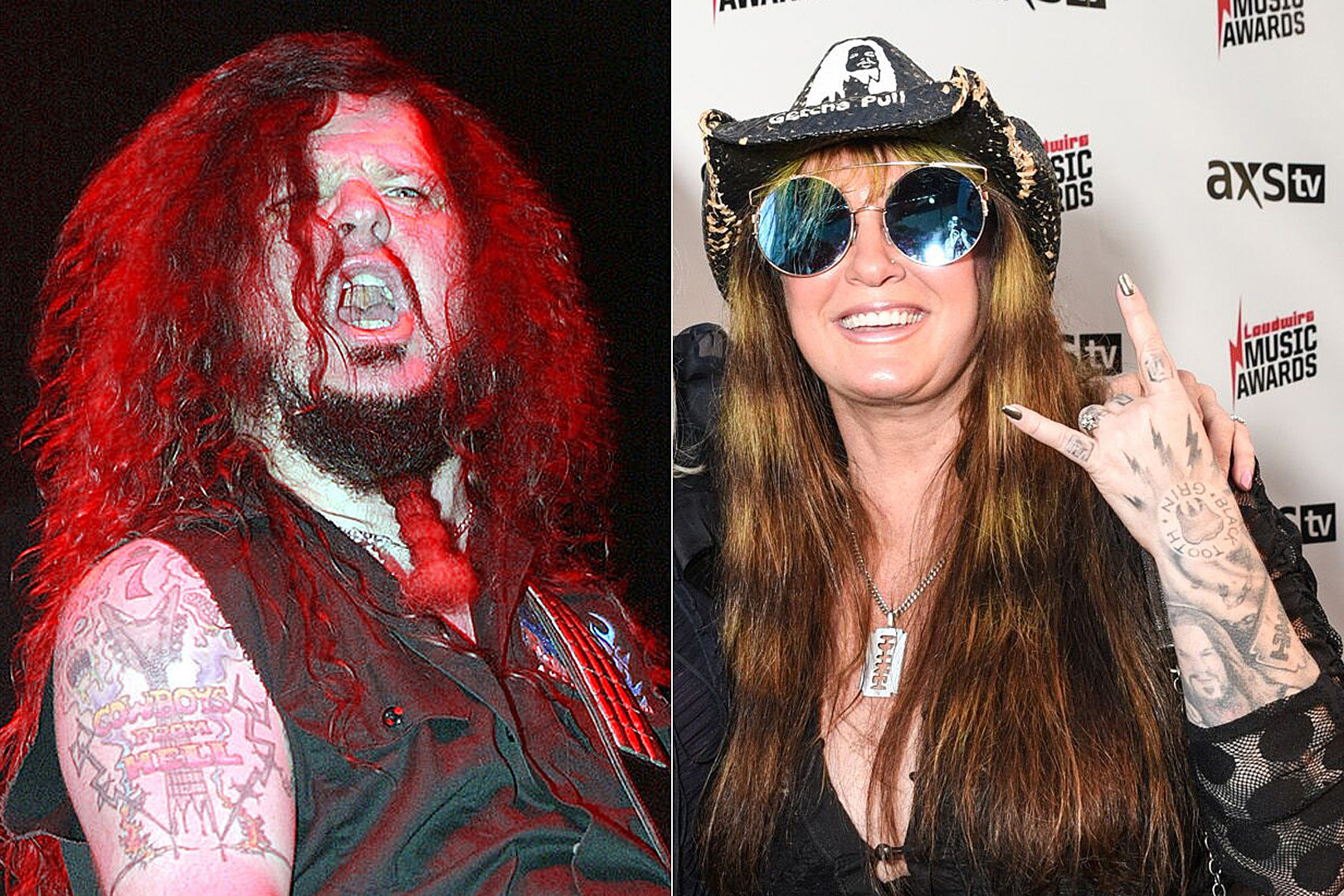 Dimebag Darrell's Girlfriend Supports Pantera Tribute Tour With Philip Anselmo, Rex Brown + Zakk Wylde
