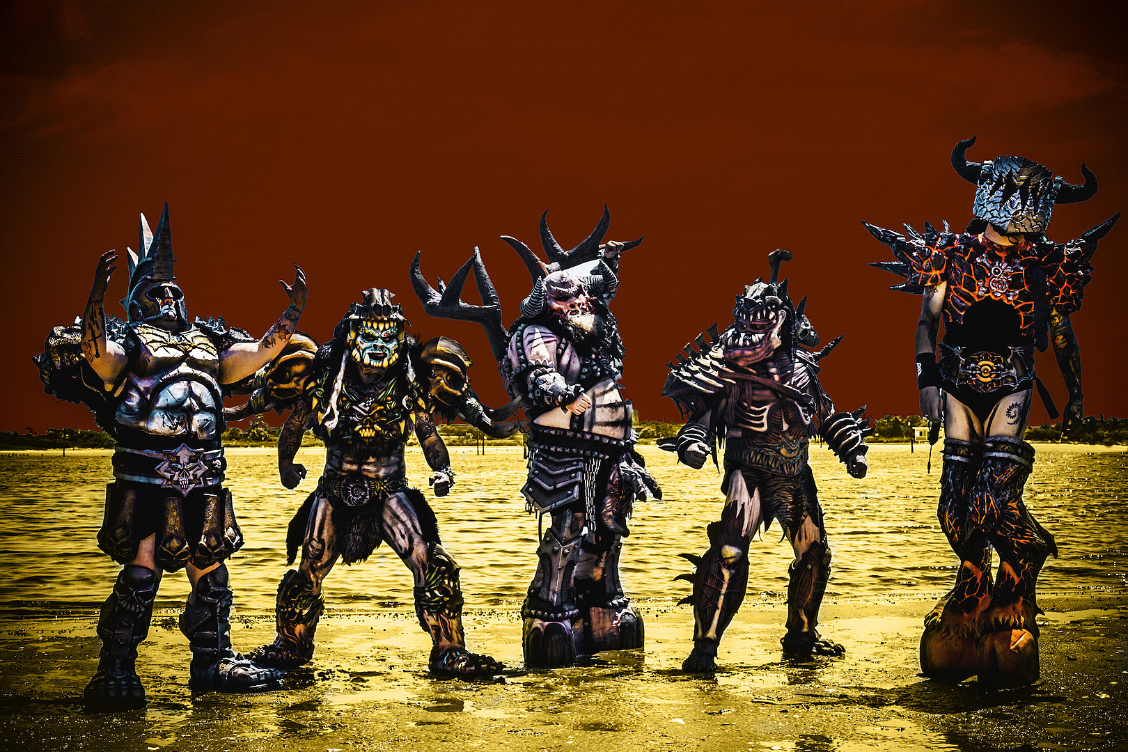 GWAR Book Huge Fall Tour With Sacred Reich, Toxic Holocaust + More