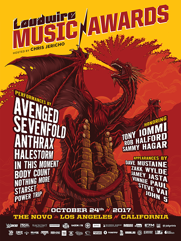 Loudwire Music Awards Poster