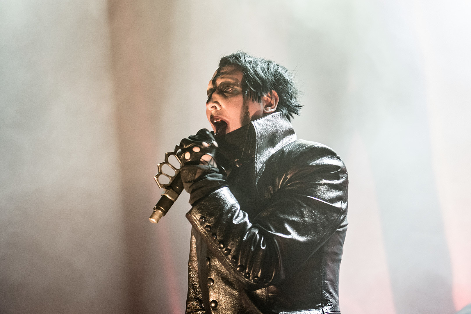 Marilyn Manson Hospitalized Following Stage Prop Collapse During Show