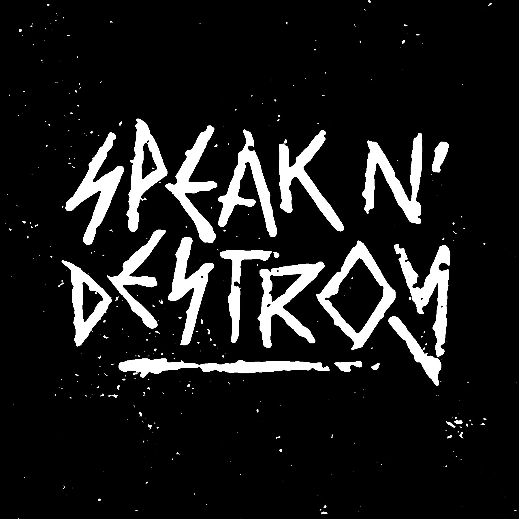 Speak N' Destroy Logo