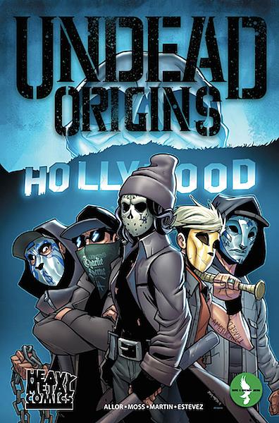 hollywood undead announce comic book undead origins