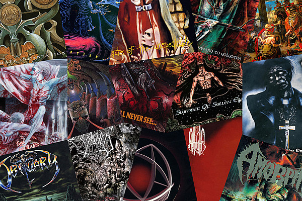 15 Sick Death Metal Albums That Turned 25 In 2017