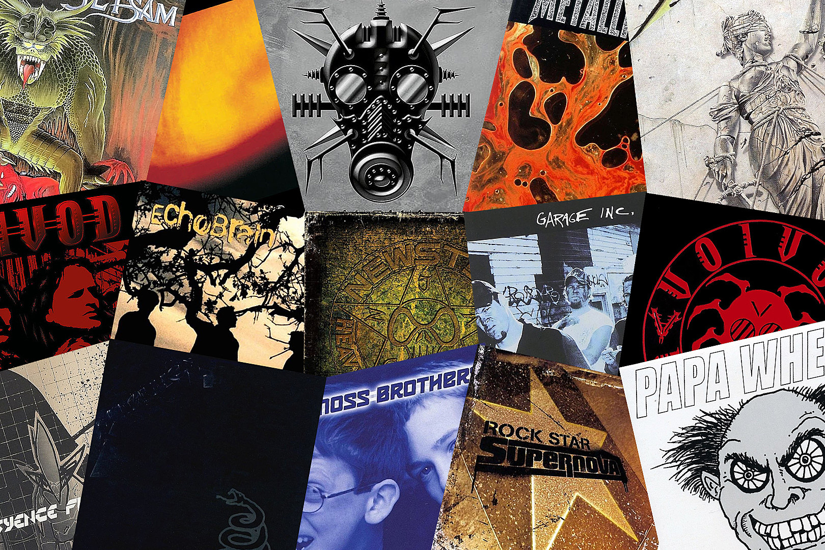 Jason Newsted Albums Ranked