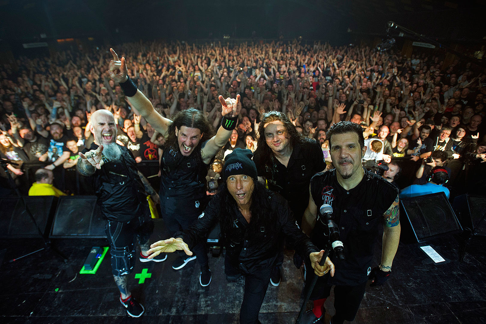 Anthrax Prep 'Kings Among Scotland' Live Concert DVD for Spring 2018 Release