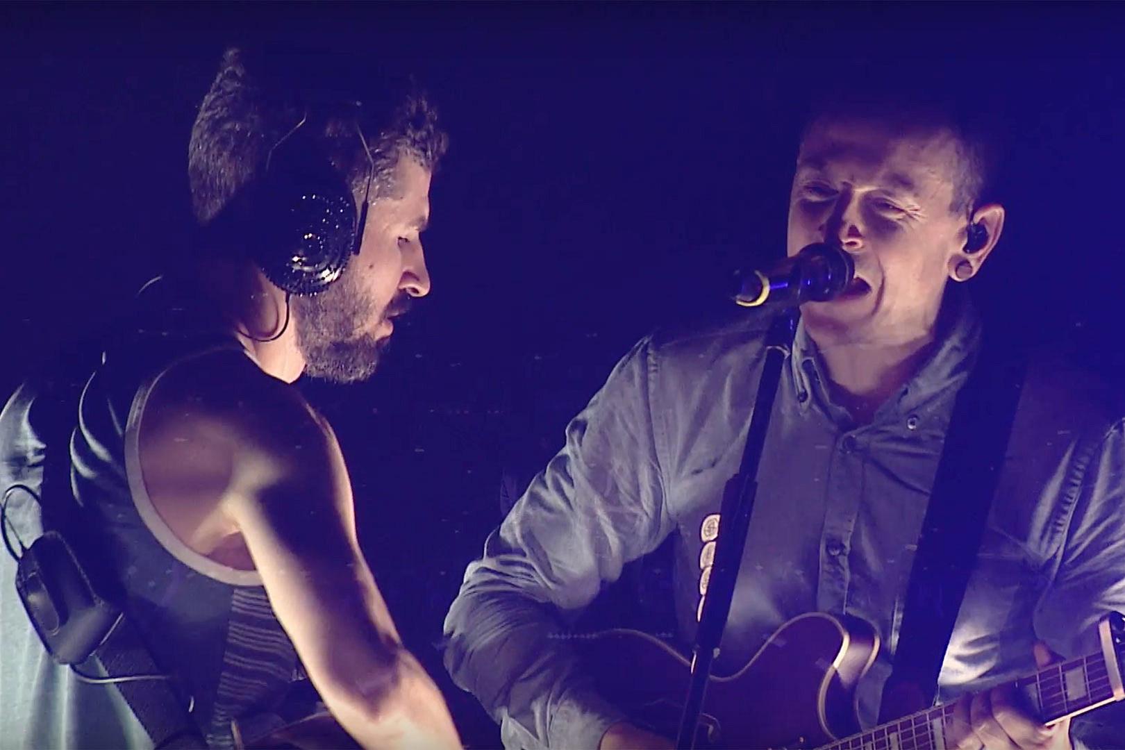Linkin Park Release Live Performance Video for 'Sharp Edges'