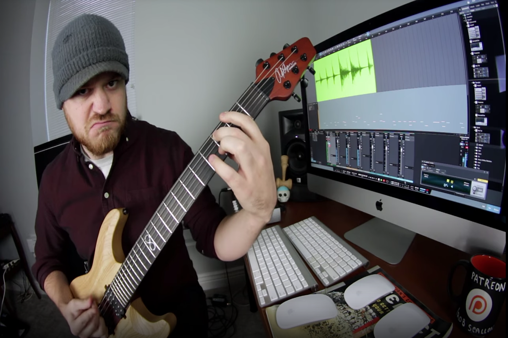 Rob Scallon Composes Disgustingly Heavy Song of Only Tritones