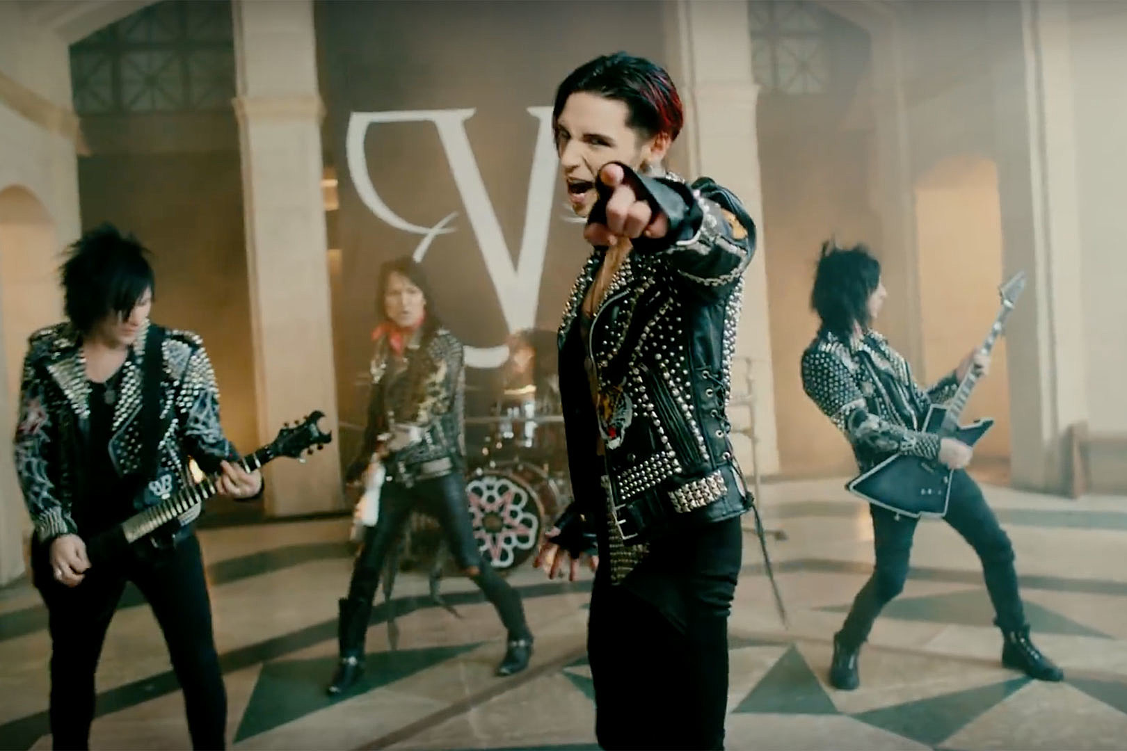 Black Veil Brides Lead the Rebellion With 'Wake Up' Video