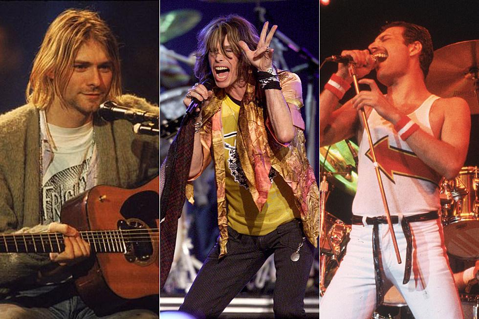 Nirvana Aerosmith Queen Recordings More To Enter Grammy Hall Of Fame