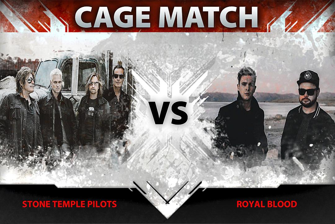 Stone Temple Pilots vs. Royal Blood – Cage Match